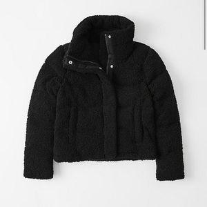 Teddy Sherpa Puffer Coat